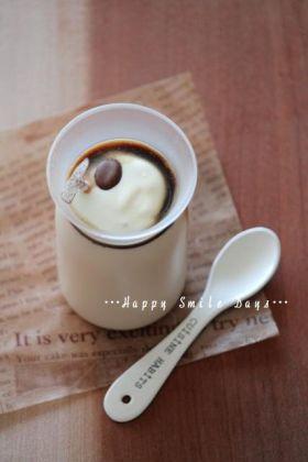 コーヒーミルクプリン。