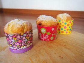 ベーキングカップで栗とジャムの焼き菓子