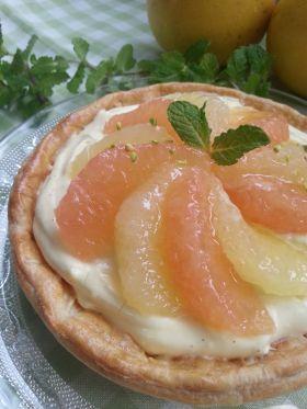 *初夏*グレープフルーツのパイ