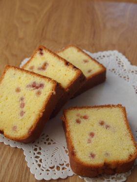 粒ジャム苺のパウンドケーキ