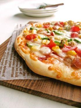 おうちピザ♪