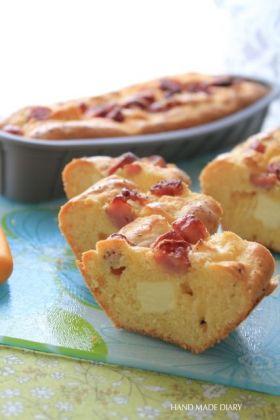 ソーセージ&チーズのケーキ