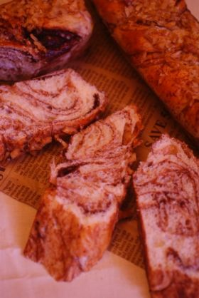 【クルミ】シート不要チョコマーブルパン