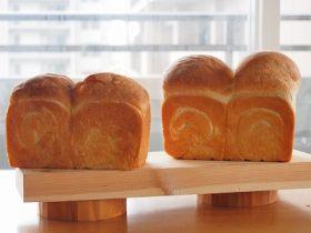 はるゆたかと春よ恋で食パン