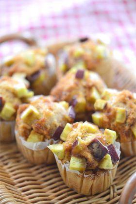 サツマイモの黒糖蒸しパン