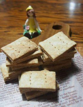 ケーキのボトムに☆全粒粉ビスケット