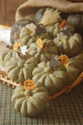 【ハロウィン】いきなり!かぼちゃパン
