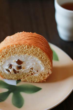 和のマロンケーキ