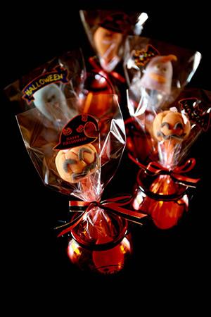 上生菓子でハロウィン
