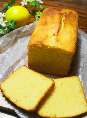 太白ごま油☆レモンパウンドケーキ