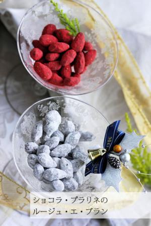 ショコラ・プラリネのルージュ・エ・ブラン