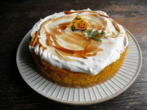 とろけるかぼちゃケーキ