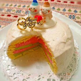 【クリスマス】クリスマスドームケーキ