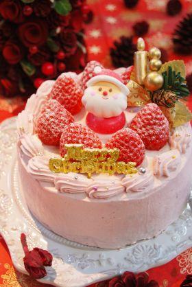 【クリスマス】ベリーのショコラケーキ