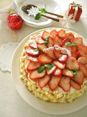 【クリスマス】いちごのショートケーキ…