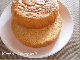 小麦・乳不使用☆米粉のスポンジケーキ