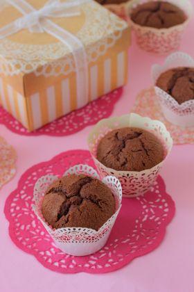 ケーキ チョコ カップ