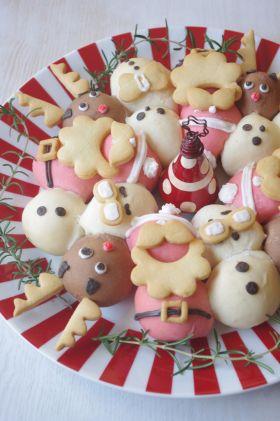 【クリスマス】ちぎりパンのリース