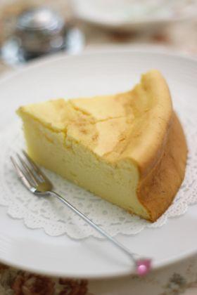 コーヒー香る大人のスフレチーズケーキ