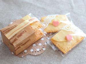 クッキーのラッピング#1