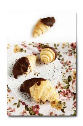 【バレンタイン】チョコクロワッサン風クッキー