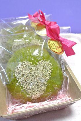 【バレンタイン】和菓子みたいな抹茶白あんぱん