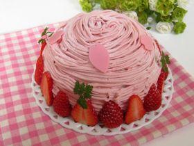苺のドーム