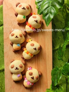 【春のお菓子】プレゼントに♪かわいいパンダクッキー