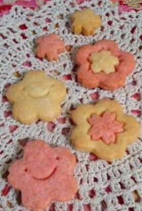 【春のお菓子】サクラサクサククッキー