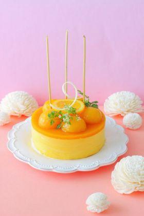 バースデーミニマンゴームースケーキ