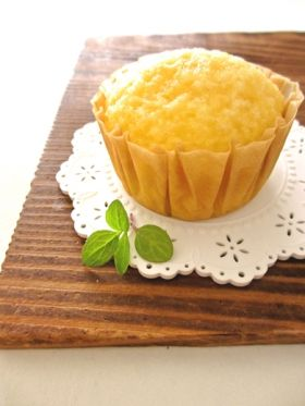 ホットケーキミックスde蒸しケーキ…