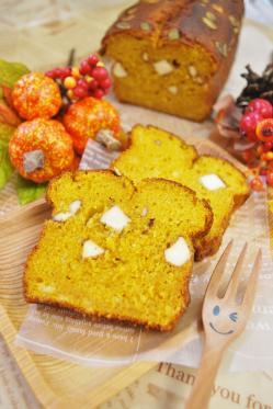 【ハロウィン】シナモン香る!しっとりかぼちゃケーキ