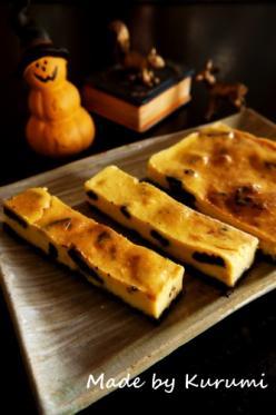 【ハロウィン】オレオ&パンプキンチーズケーキ