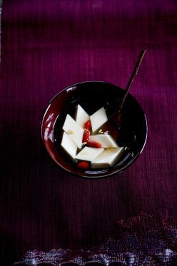 高貴な杏仁豆腐