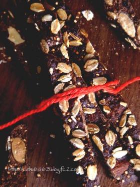 キヌアたっぷり酵母ビスコッティ