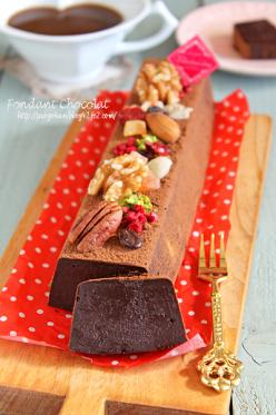 温でも冷でもおいしい☆濃厚なめらかチョコケーキ