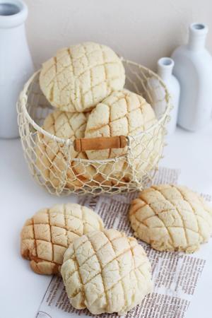 サクサクお店のメロンパン