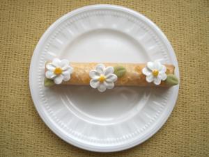 ラフト型で作るデイジーのレモンケーキ