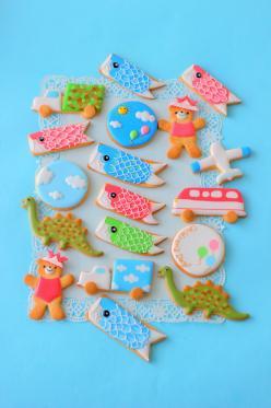 子どもの日アイシングクッキー