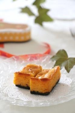 かぼちゃのチーズケーキ…