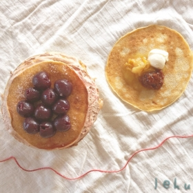 北欧のパンケーキ