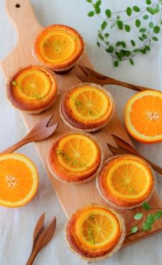 大豆と米糀のスイーツ粉 を使ったオレンジケーキ