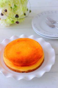 しっとり濃厚ベイクドチーズケーキ♪