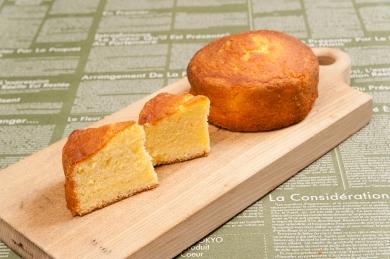 レモンとバニラの パウンドケーキ