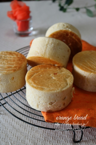 ふ~んわりオレンジパン