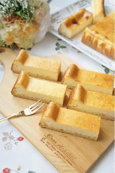 オレンジベイクドチーズケーキ