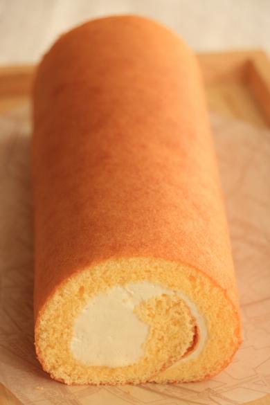 きゃらめるロールケーキ ★外巻きロールケーキの作り方