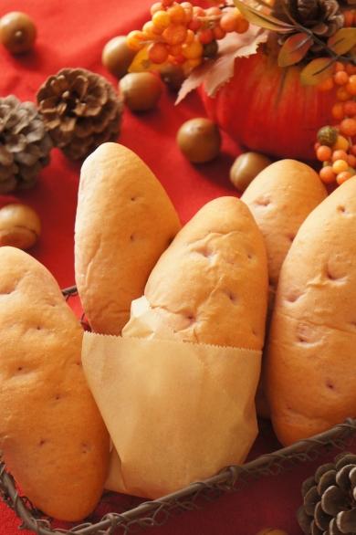 見た目もお芋☆焼き芋パン