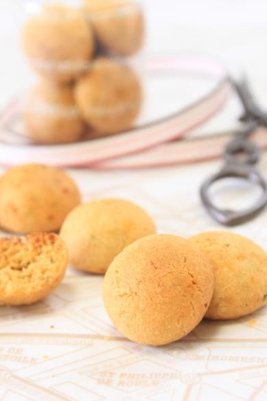 トマト&バジルのさくさくクッキー