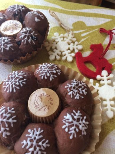 クリスマスショコラリング